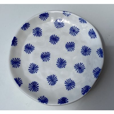 Southbank's Blue & White Burst Plate