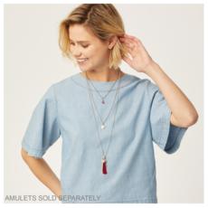Vivi Delicate Medium Charm Necklace