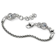 Infinity Sparkle Slide Bracelet