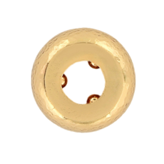 Gold Shine Stopper Bead
