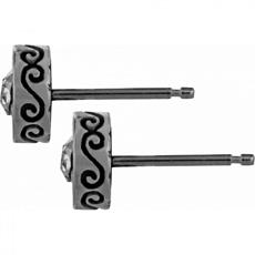 Crescent Mini Post Earrings