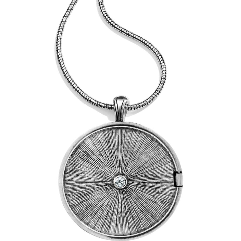 Toledo Alto Noir Convertible Locket Necklace