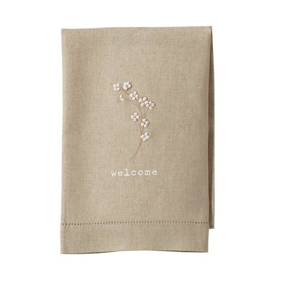 Southbank's Welcome Cotton Stem French Knot Towel