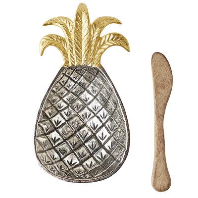 Southbank's Pineapple Metal Bowl Set