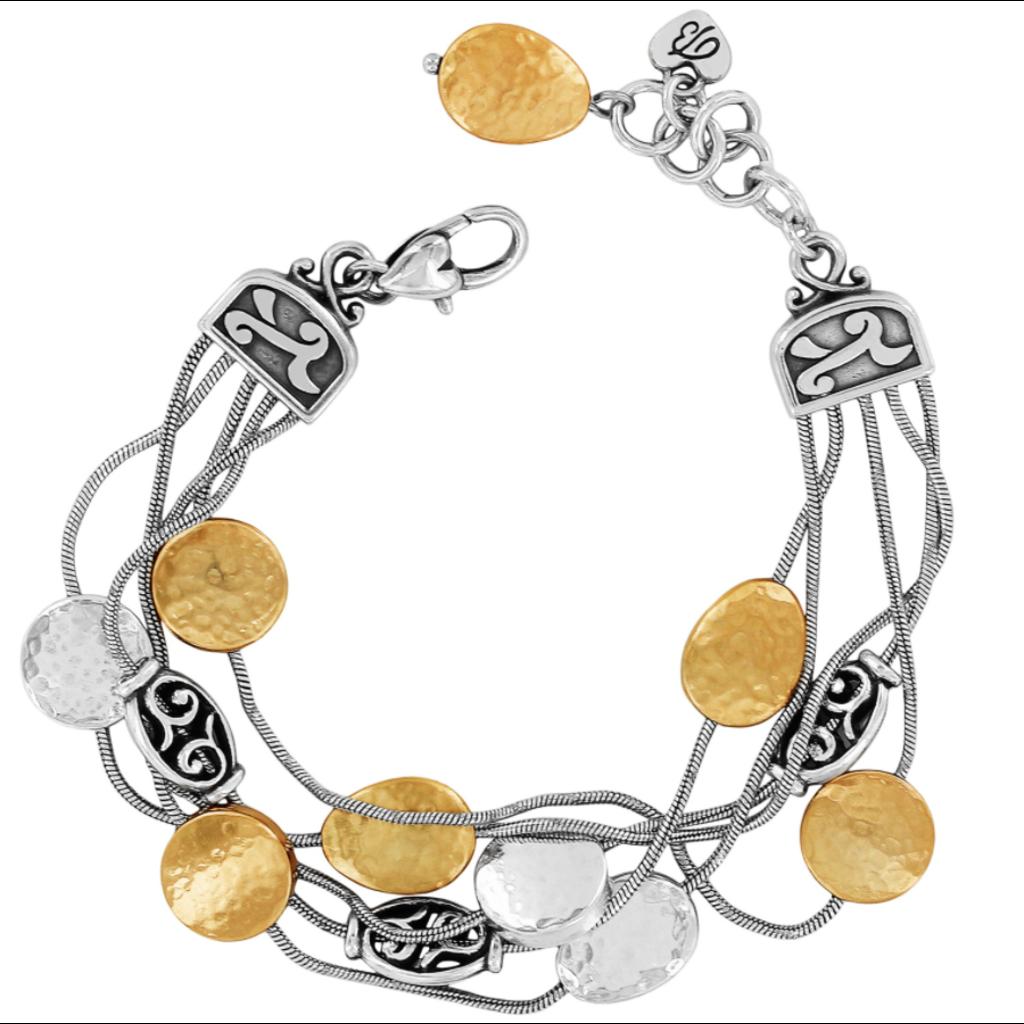 Silver & Gold Mediterranean Bracelet