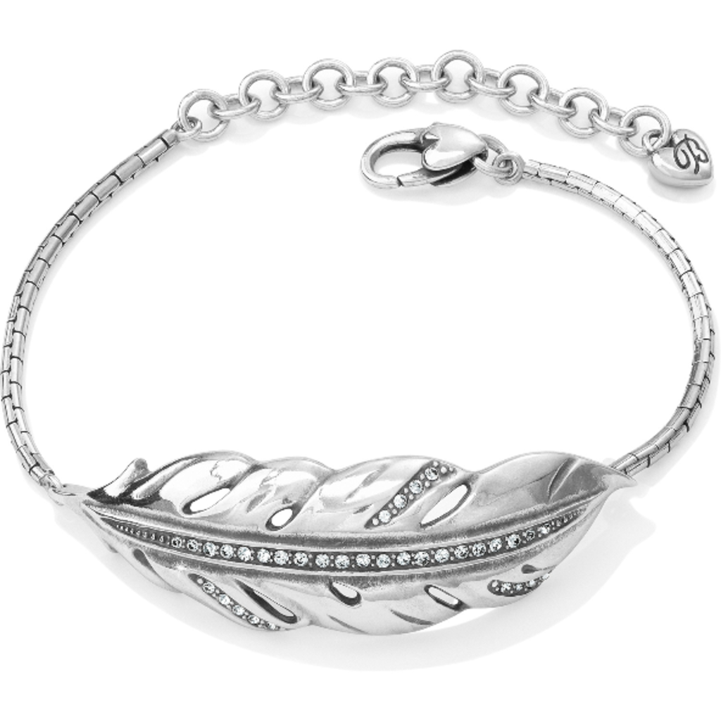 Contempo Ice Feather Bracelet