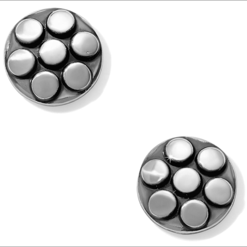 Pebble Mix Dot Post Earrings