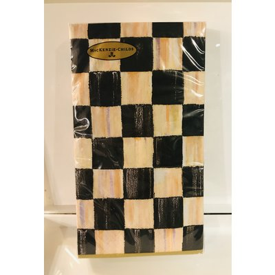 MacKenzie-Childs Courtly Check Paper Guest Napkins