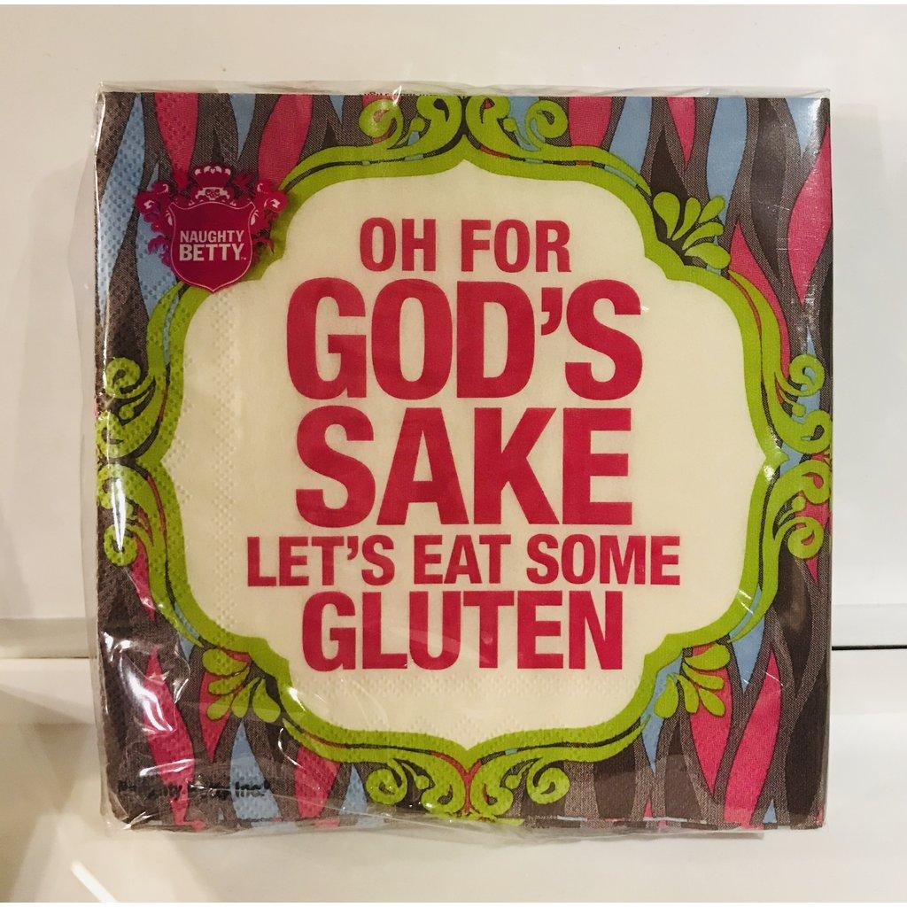 Southbank's Eat Gluten Beverage Napkin