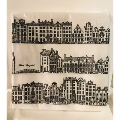 Southbank's City Skyline Napkins