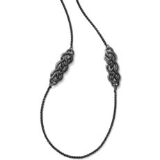 Interlok Braid Long Necklace