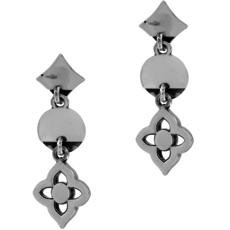 Toledo Collective Charm Post Drop Earrings
