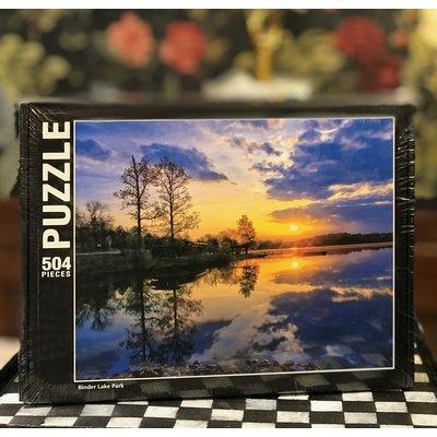 Southbank's Binder Lake Park Puzzle