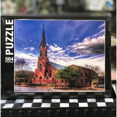 Southbank's St. Peter's Church - Summertime Puzzle