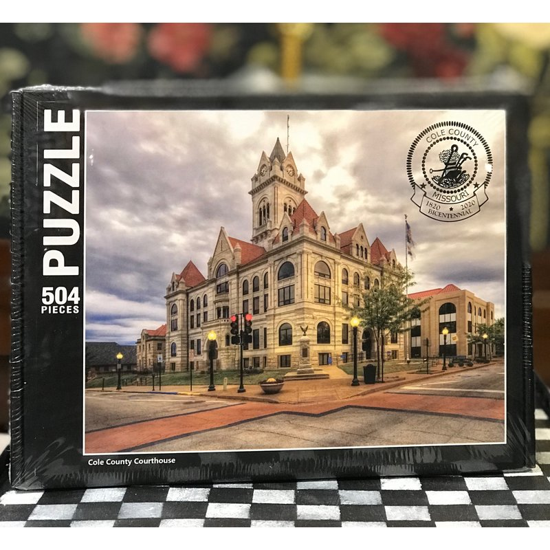 Southbank's Cole County Courthouse Bicentennial Puzzle