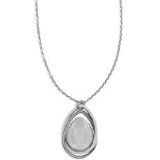 Neptune's Rings Gem Teardrop Necklace