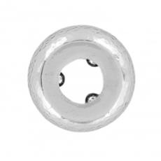 Silver Shine Stopper Bead