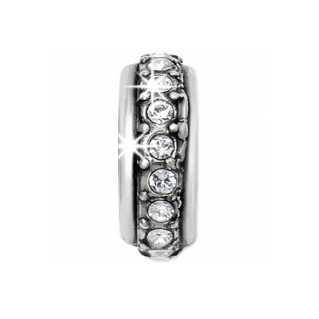 Silver Stardust Stopper Bead