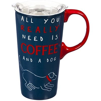 Southbank's All You Really Need is Coffee and a Dog Travel Cup