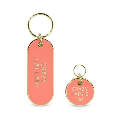 Southbank's Crazy Cat Lady Key Chain