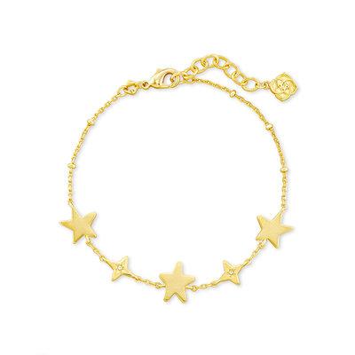 Kendra Scott Jae Star Bracelet Gold*