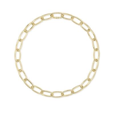 Kendra Scott Beckett Statement Necklace Gold Metal*