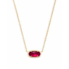 Kendra Scott Elisa Pendant Necklace In Berry Illusion