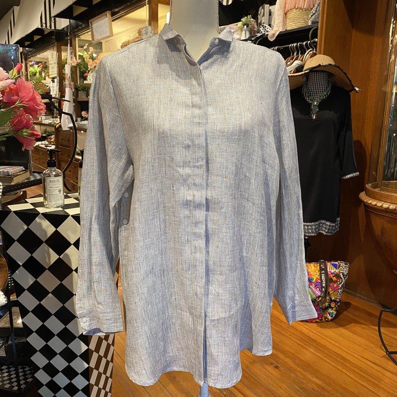 Southbank's Gray Woven Shirt