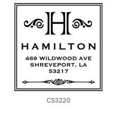 Three Designing Women Hamilton Style Square - CS3220
