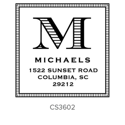 Three Designing Women Michaels Style Square - CS3602