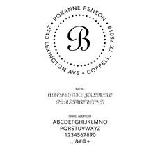 Three Designing Women Benson Style Circle - CS3252