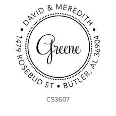 Three Designing Women Greene Style Rectangle - CS3607