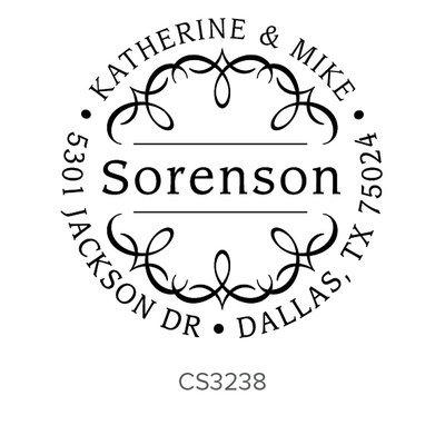 Three Designing Women Sorenson Style Circle - CS3238