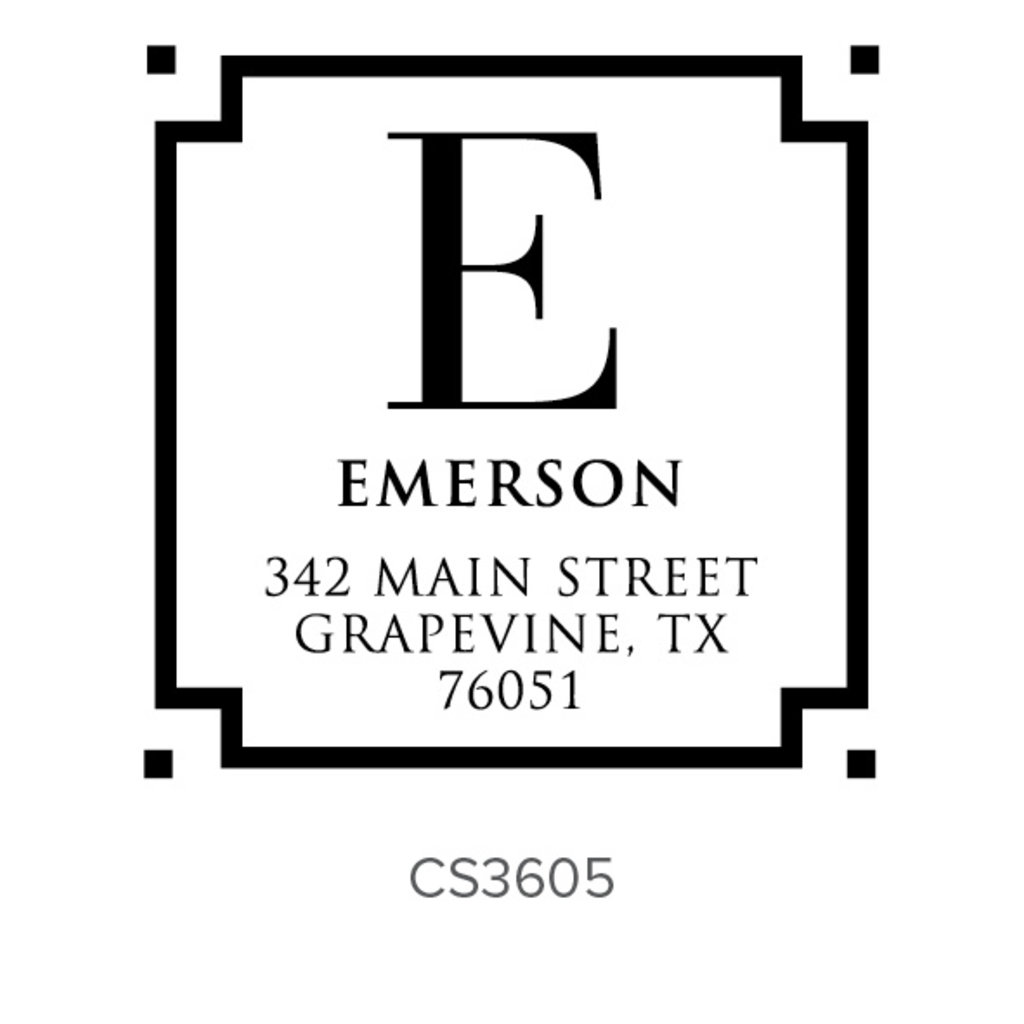 Three Designing Women Emerson Style Square - CS3605
