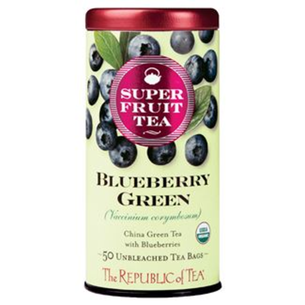 Blueberry Green Superfruit Tea