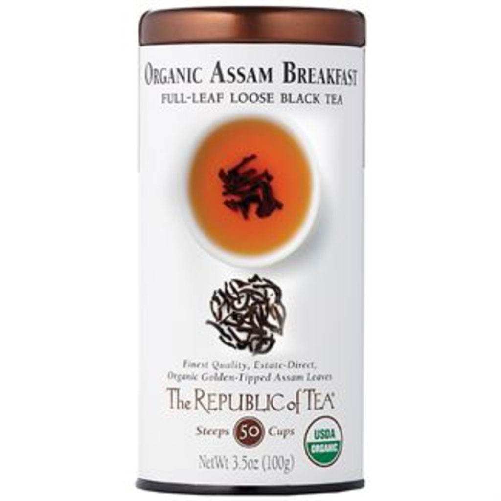 Organic Assam Breakfast Loose Black Tea