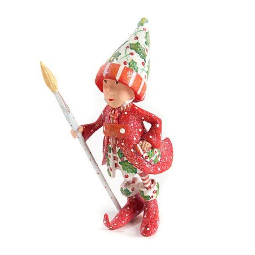 MacKenzie-Childs Patience Brewster Dash Away Vixen's Elf Ornament