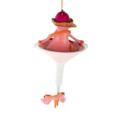 MacKenzie-Childs Patience Brewster Cosmopolitan Girl Ornament