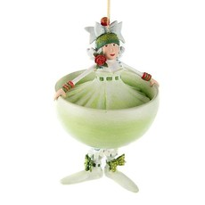 MacKenzie-Childs Patience Brewster Marguerite Margarita Ornament