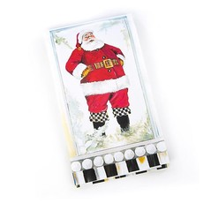 MacKenzie-Childs Merry Christmas Paper Napkins - Guest