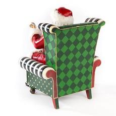 MacKenzie-Childs MacKenzie-Childs Wish List Santa in Chair