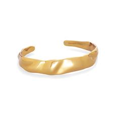 Holland Cuff Bracelet In Vintage Gold