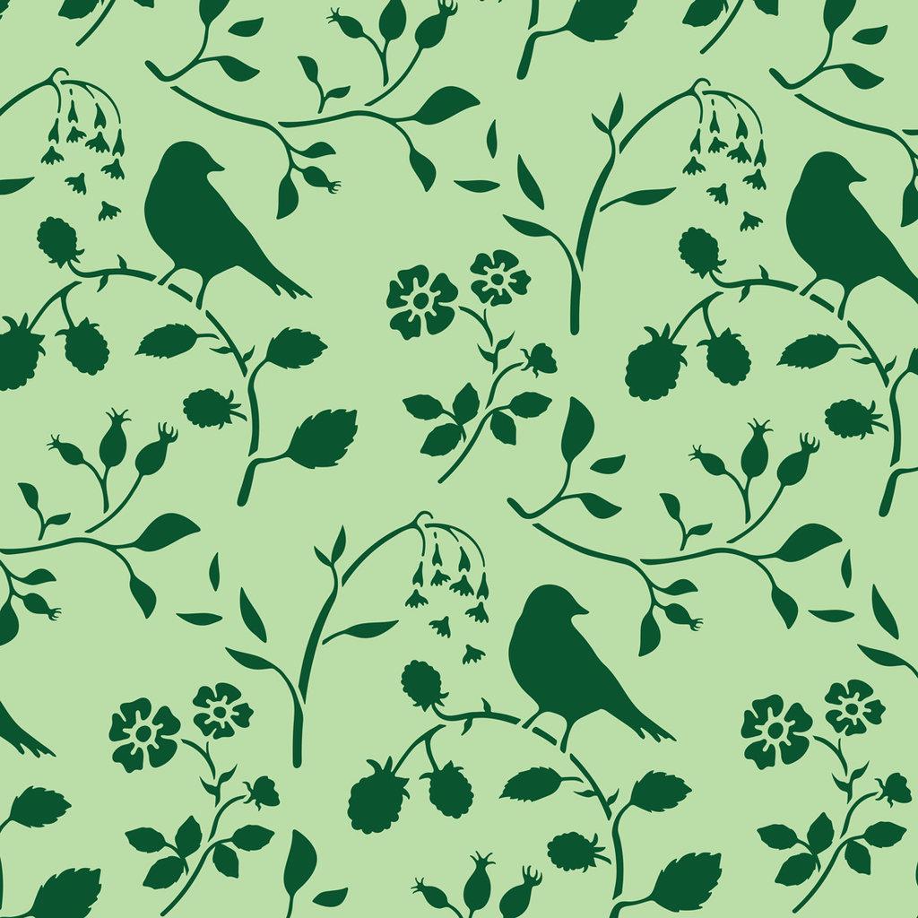 Countryside Bird Stencil