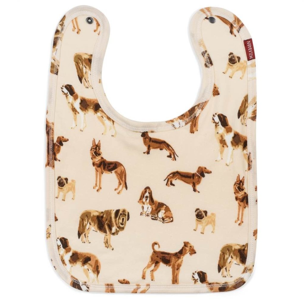 Little Bees Natural Dog - Traditional Bib