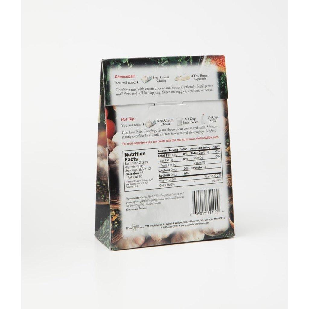 Garlic Herb Cheeseball & Appetizer Mix