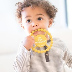 Little Bees Me for President Teether