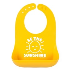 Little Bees Be the Sunshine Wonder Bib