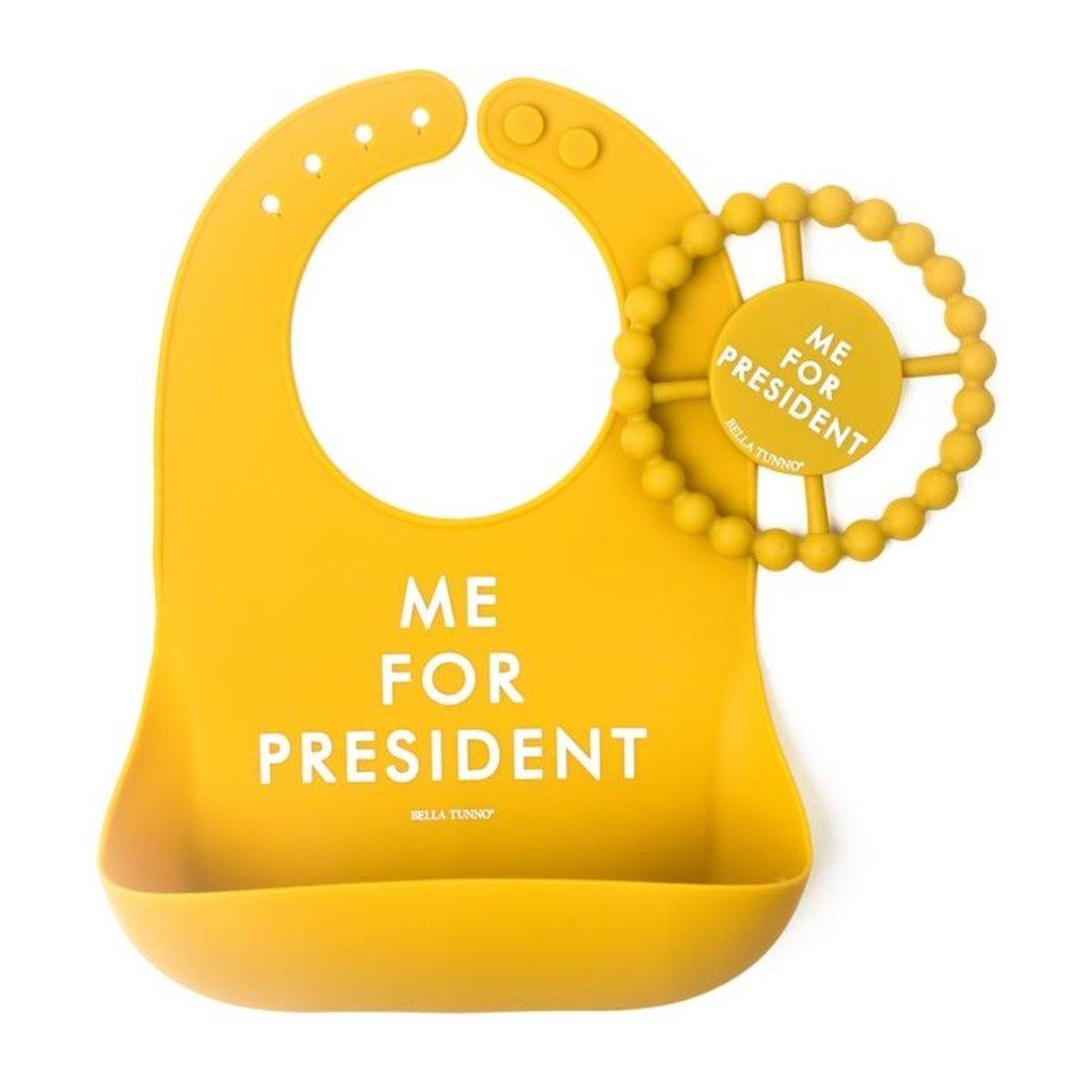 Little Bees Me for President Wonder Bib