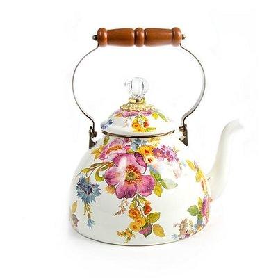 Flower Market Tea Kettle  - 3 quart