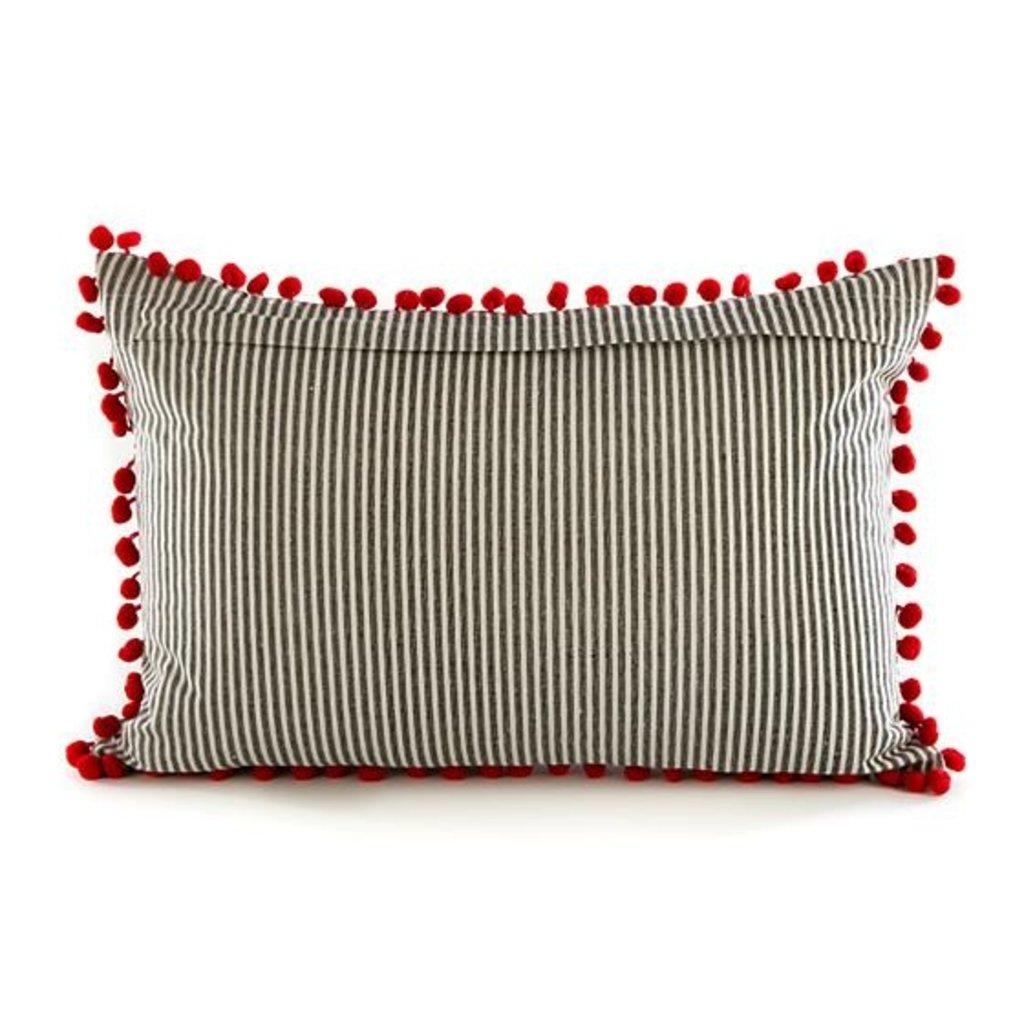 MacKenzie-Childs Holiday Camper Lumbar Pillow